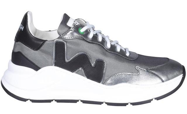 Womsh Vegan Sneakers - Wave Iron Black - Womsh