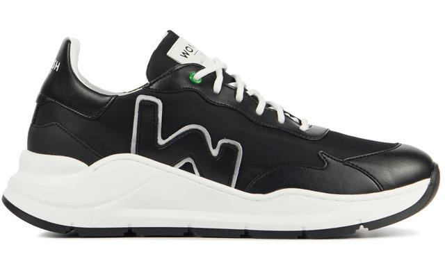 Womsh Vegan Sneakers - Wave Off Black - Womsh