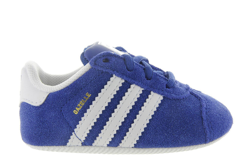 Unisex Gazelle Adidas Babyschoenen Crib Blauw Babyslofjes 8nmNwO0v