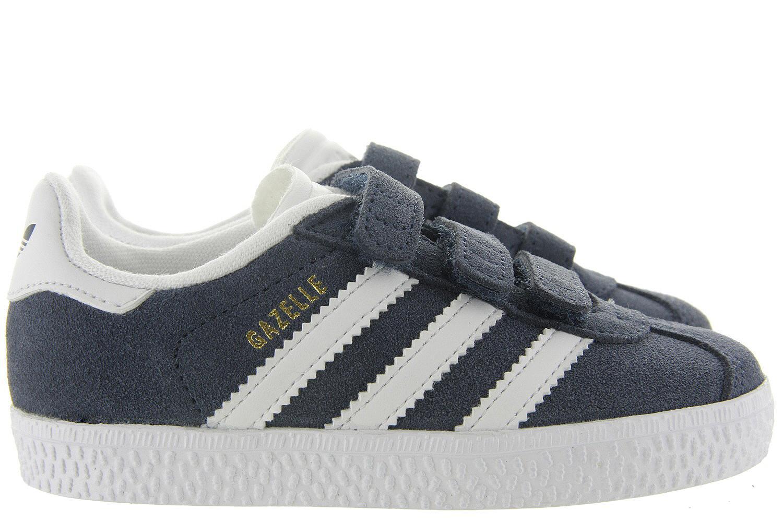 Adidas Sneakers Velcro Gazelle Kids Blauw Uni Adidas Originals Kinderschoenen