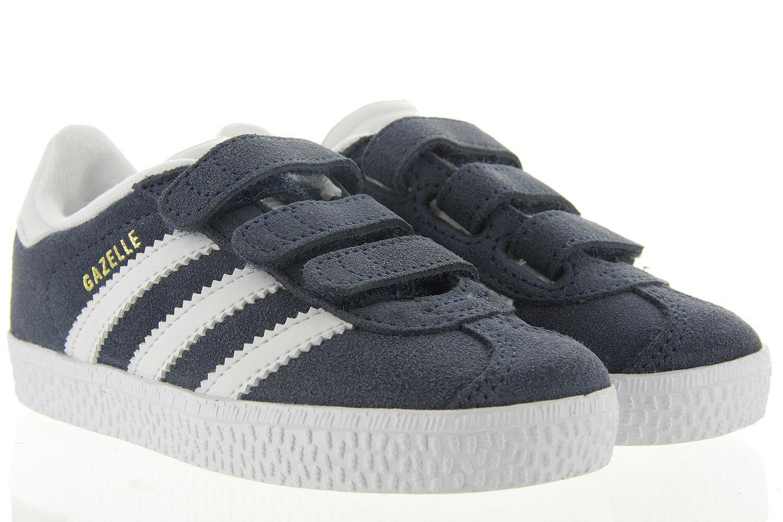 66bc89bf3f0 Kinderschoenen Adidas Sneakers Velcro - Gazelle Kids Blauw Uni ...