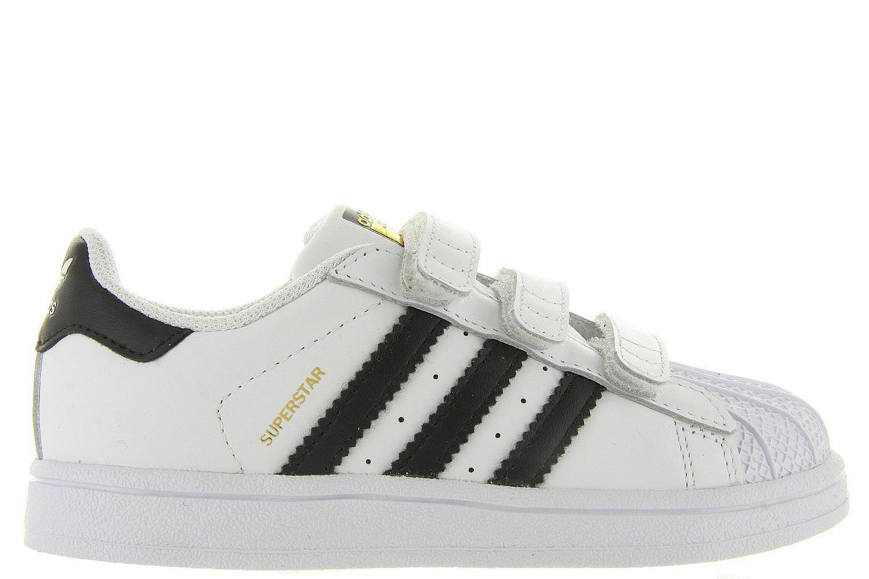 021d3430253 Kinderschoenen Adidas Superstar Sneakers - Klittenband Wit-zwart - Adidas  Originals wit | Maxime Schoenen