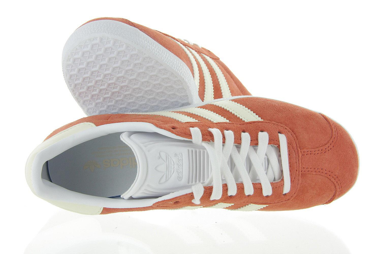 Adidas Sneakers Dames Gazelle Cg6067 Oranje Adidas Originals Damesschoenen