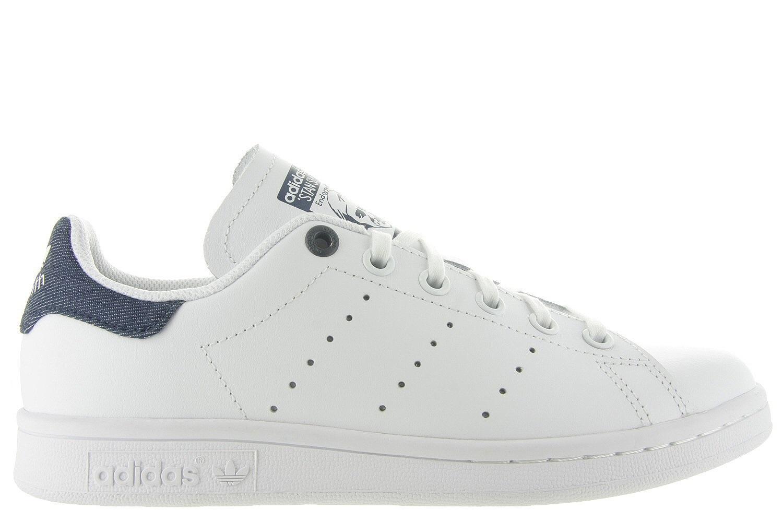 adidas stan smith wit met blauw