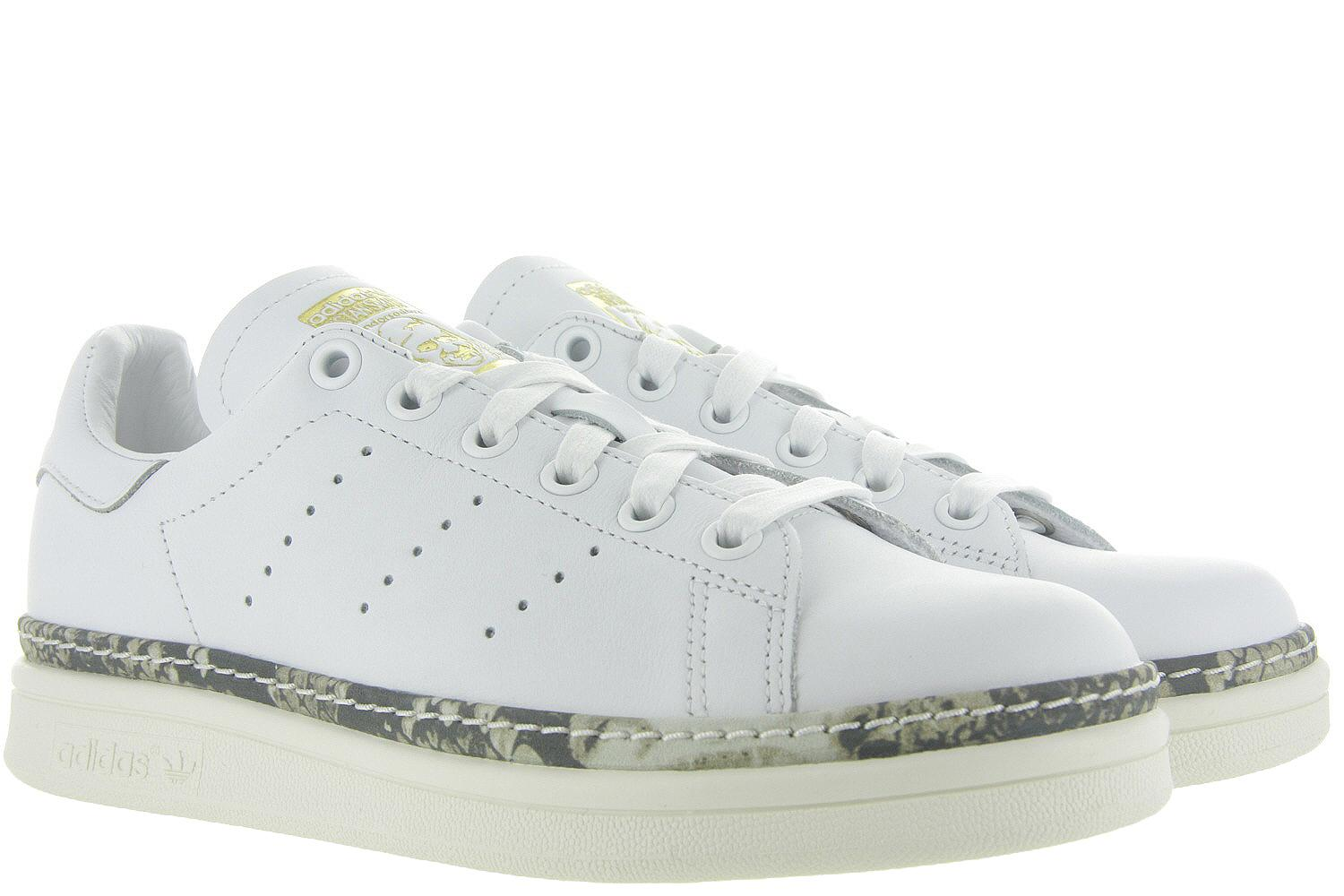 f6f133a278f Damesschoenen Adidas Sneakers - Stan Smith New Bold Wit - Adidas ...