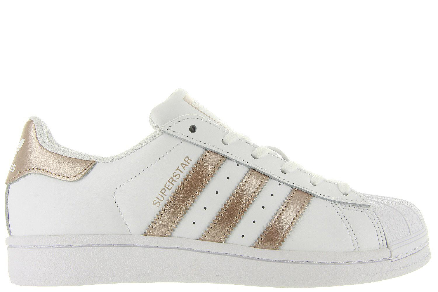 adidas superstar dames wit goud