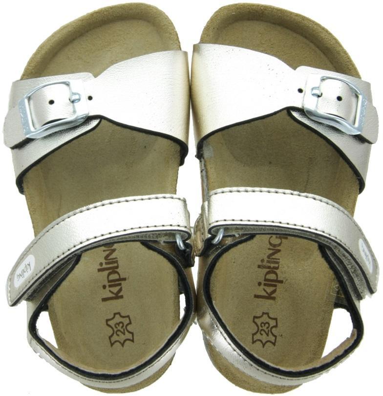 Kipling Sandalen Easy60 Goud Meisjes Kipling Kinderschoenen
