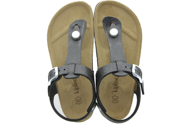 Zwarte Sandalen 11965359 Maria 1 Meisjes Kipling Kinderschoenen