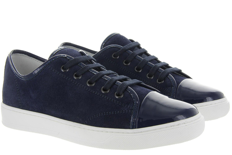 Sneaker Damesschoenen Blauw Low Lanvin Unisex Top ppqtf8