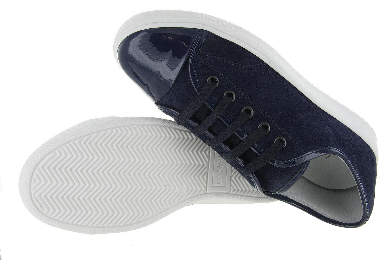 9000d3ef7aa Damesschoenen Lanvin Low Top Sneaker - Blauw Unisex - Lanvin ...