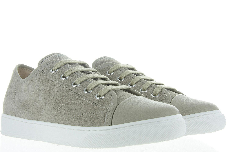 0e990591832 Damesschoenen Lanvin Low Top Sneaker - Beige Unisex - Lanvin beige ...