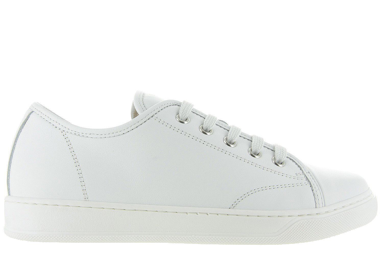 736cc87c6ac Damesschoenen Lanvin Low Top Sneaker - Wit Unisex - Lanvin wit | Maxime  Schoenen