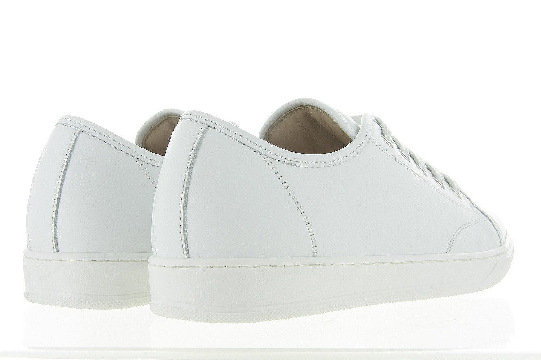 9c520a46c98 Damesschoenen Lanvin Low Top Sneaker - Wit Unisex - Lanvin wit ...