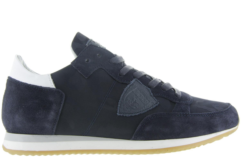 35a77e77e4f Dames-herenschoenen Philippe Model Dames Sneakers - Dames Sneaker Blauw -  Philippe Model blauw   Maxime Schoenen