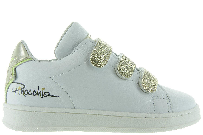 Meisjes Kinderschoenen.Pinocchiomaxime Meisjes Sneakers P1115 Kinderschoenen Witte Qzjsumlvpg