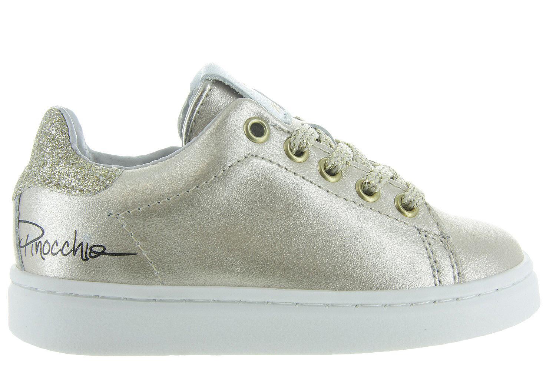 adc562bf665 Kinderschoenen Pinocchio Sneakers - P1849 Goud Meisjes - Pinocchio goud |  Maxime Schoenen