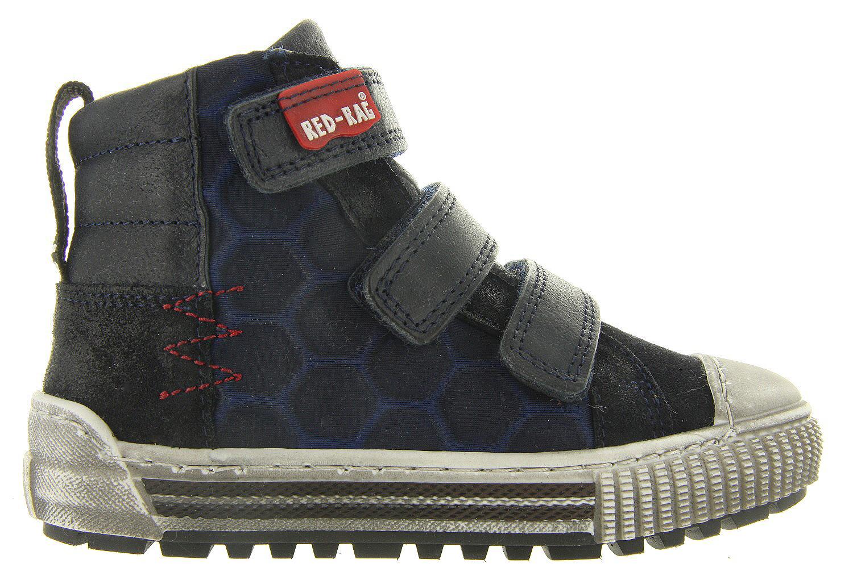 Kinderschoenen Belgie.Kinderschoenen Blauwe Klittenbandschoenen 13201 Jongens Red Rag