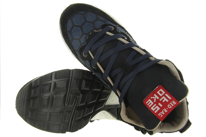 Jongens Kinderschoenen.Veterschoenen 15497 Rag Blauw Red Blauwe Jongens Kinderschoenen