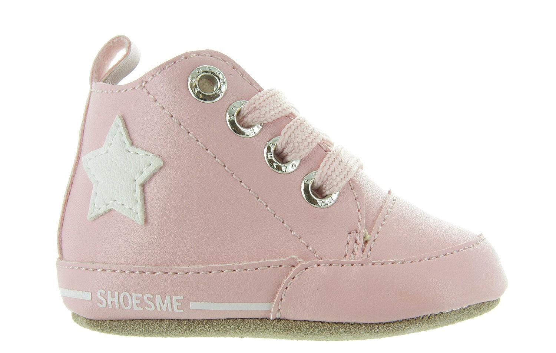 9963299a590 Babyschoenen Shoesme Babyslofjes - Roze Met Ster - Shoesme | Maxime Schoenen