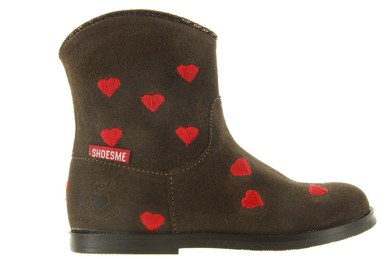 Kinderschoenen Shoesme Laarzen Bl7w069 b Bruin Meisjes