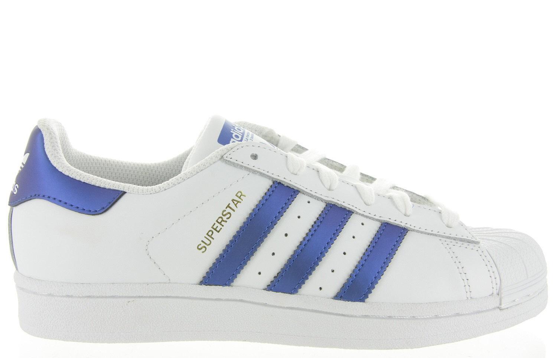 adidas originals superstar blauw